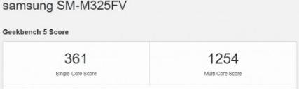 مواصفات جالكسي ام 32 - Galaxy M32 تظهر على منصة Geekbench