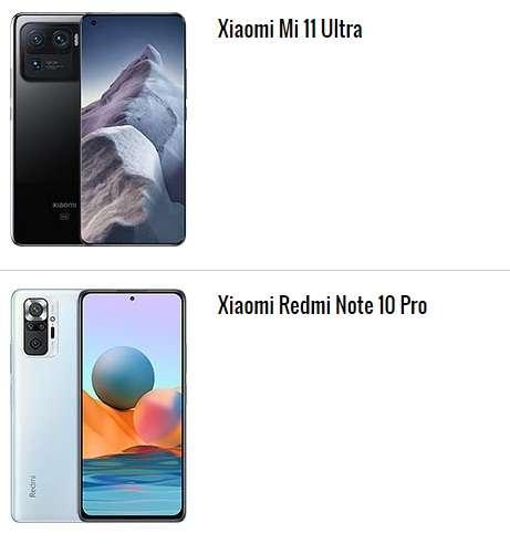 الهاتف الأول والثاني ضمن أعلى 10 هواتف تقييمًا