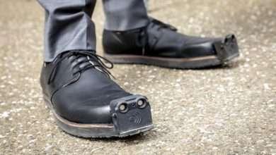 الحذاء الذكي