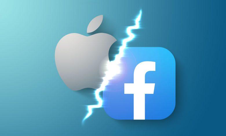 الحرب بين فيسبوك وآبل
