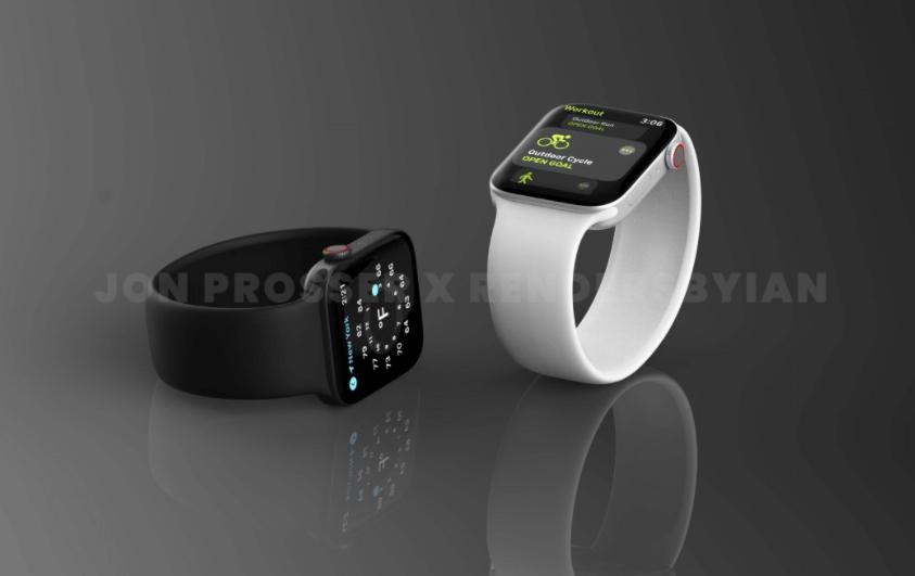ابل واتش 7 - Apple Watch 7 تسريبات تكشف تصميمًا جديدًا للساعة