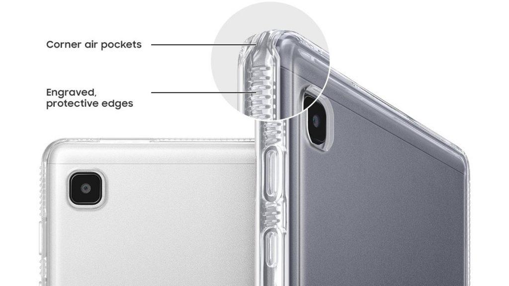 جالكسي تاب اى 7 لايت – Galaxy Tab A7 Lite أول نظرة على تصميم التابلت القادم من جميع جوانبه