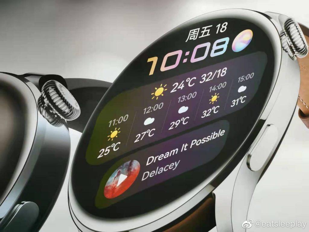 هواوي واتش 3 – Huawei Watch 3 تظهر في صور عالية الدقّة