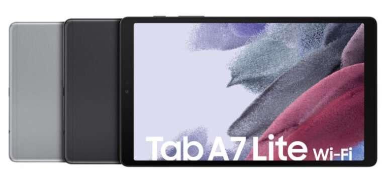 جالكسي تاب اى 7 لايت - Galaxy Tab A7 Lite تسريب يكشف تفاصيل جديدة عن التابلت