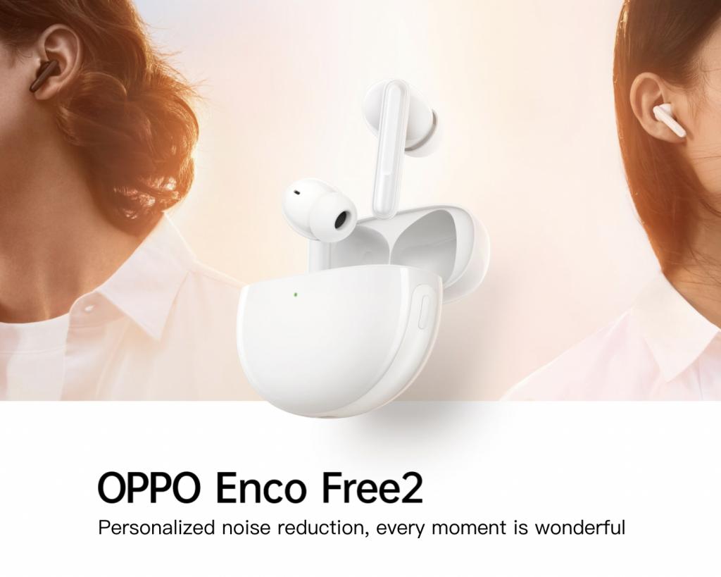 مواصفات اوبو انكو فري 2 - OPPO Enco Free2 وسعرها رسميًا