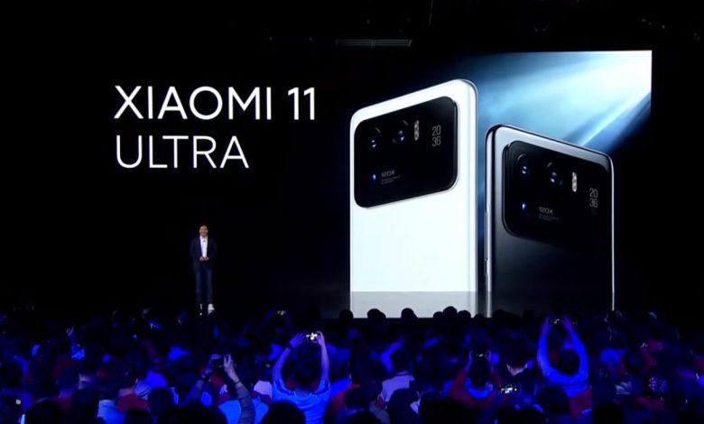 شاومي مي 11 الترا Xiaomi Mi 11 Ultra يصل أوروبا بسعر مميز تمهيدًا لبقية الأسواق