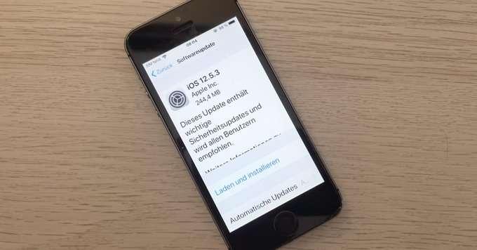 تحديث اي او اس iOS 12.5.3 النسخة المستقرة متاحة رسميًا لأجهزة الأيفون والأيباد القديمة