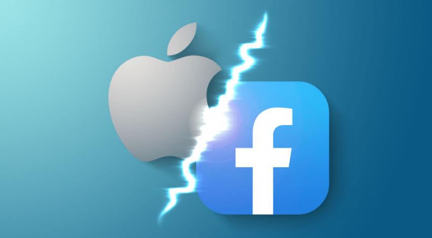 الحرب بين آبل وفيس بوك .. إشعار يلمح أن فيس بوك لن يبقى مجانيًا