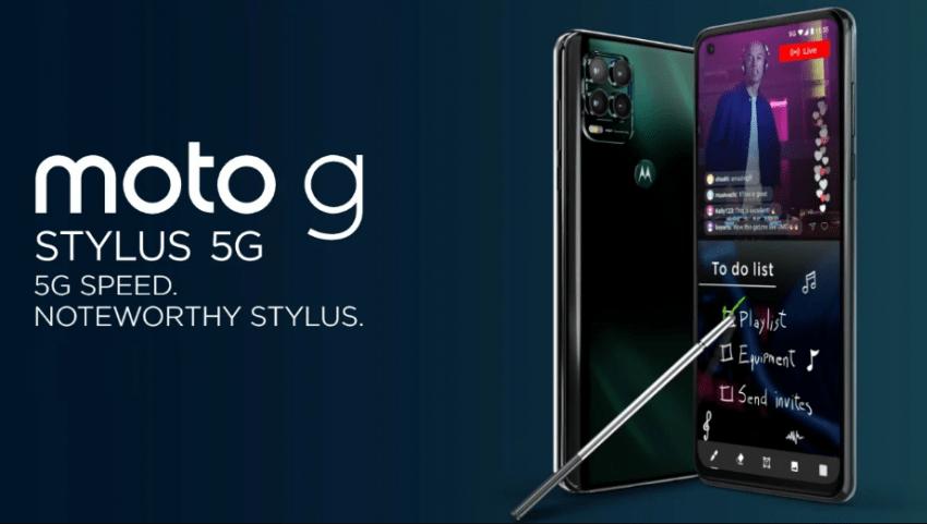 سعر ومواصفات موتو جي ستايلس 5 جي - Moto G Stylus 5G رسميًا