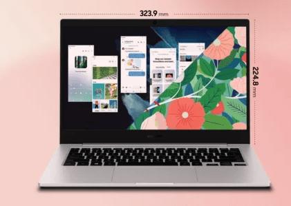 سعر ومواصفات جالكسي بوك جو - Galaxy Book Go رسميًا