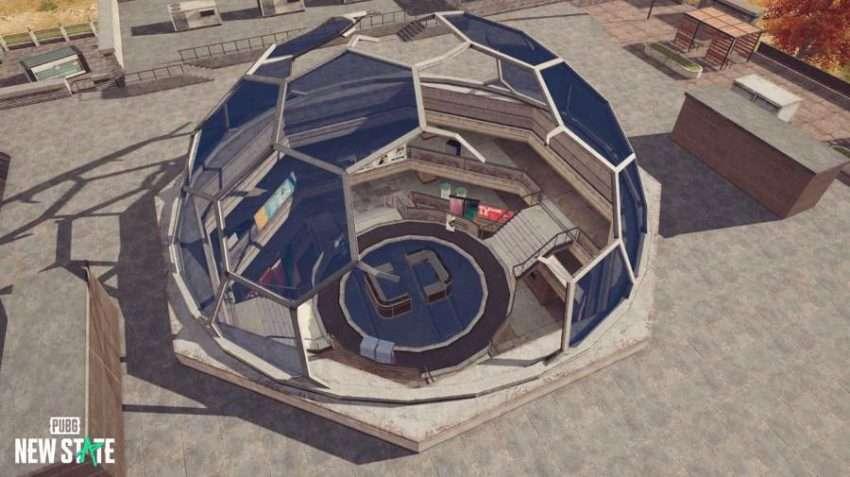 ببجي نيو ستيت PUBG New State كشف نقاط لعب مثيرة في خريطة اللعبة