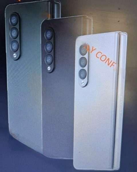 سامسونج جالكسي زد فولد 3 – Galaxy Z Fold 3 تسريب صادم لعشاق الهواتف القابلة للطي