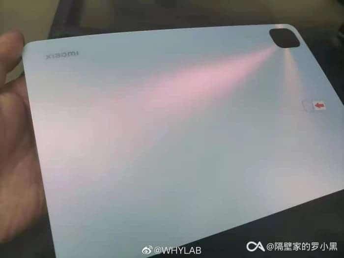 شاومي مي باد 5 – Xiaomi Mi Pad 5 يظهر في صورة حيّة بتصميم رائع لأول مرة