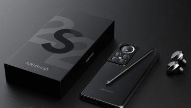 جالكسي اس 22 الترا Galaxy S22 Ultra لن يتغير الاسم حتى بوجود ميزة القلم S Pen