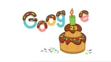 عيد ميلاد جوجل Google 23