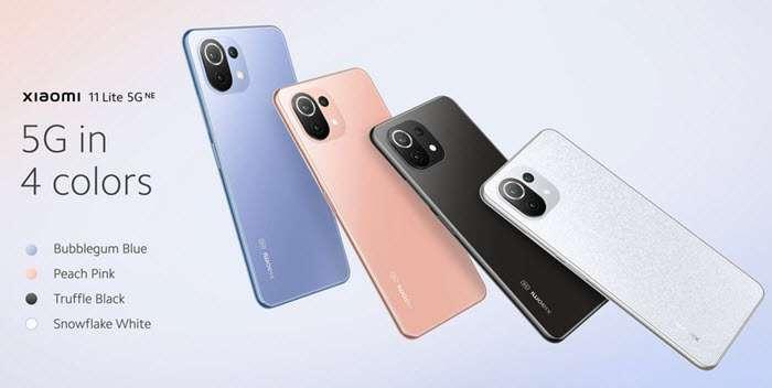 سعر ومواصفات شاومي 11 لايت 5g ان اي Xiaomi 11 Lite 5G NE رسميًا