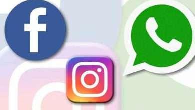 فيسبوك وواتساب وانستجرام