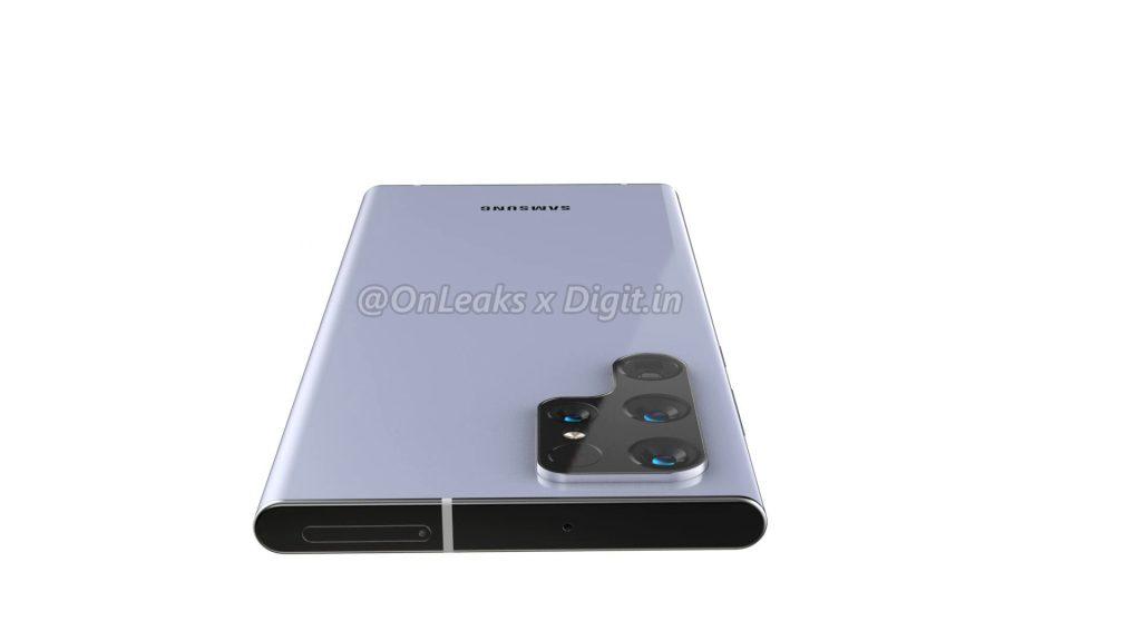 سامسونج جالكسي اس 22 الترا – Samsung Galaxy S22 Ultra يظهر بتصميم كاميرا مميز في صور مسرّبة